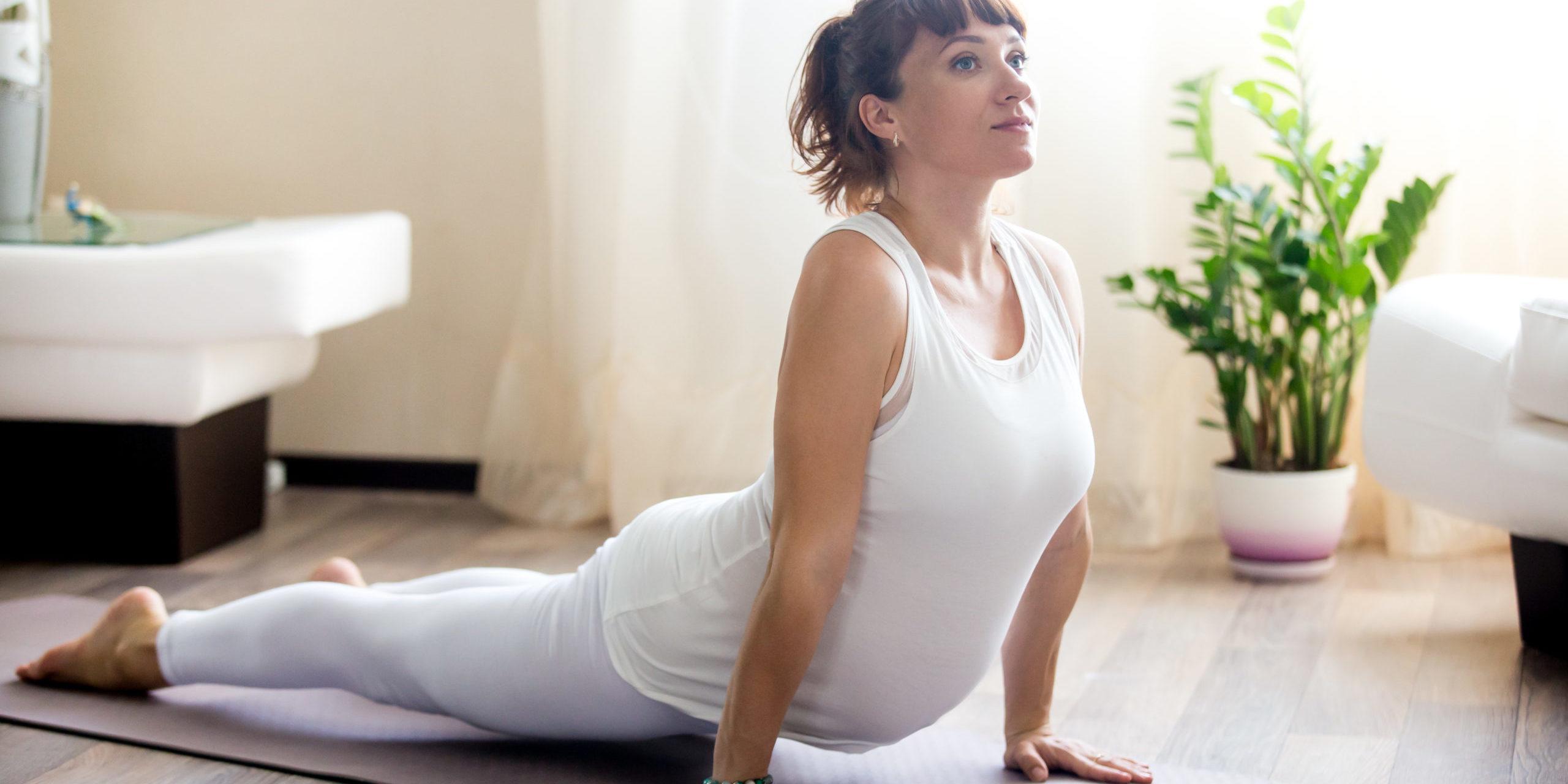 Zwangerschapsyoga workouts